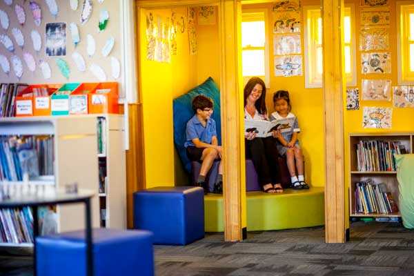 St Kevins Catholic Primary School Eastwood Library